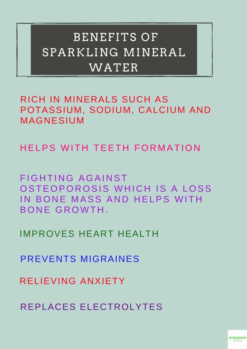 Benefits of Sparkling Mineral Water